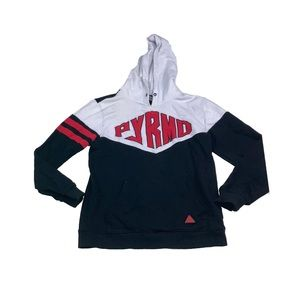 Black pyramid  Chris browns hoodie sweater